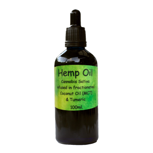 Hemp / CBD Oil in MCT Coconut with Tumeric