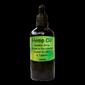 Hemp / CBD Oil in MCT Coconut with Tumeric