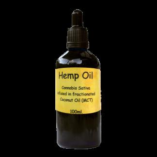Hemp / CBD Oil in MCT Coconut oil