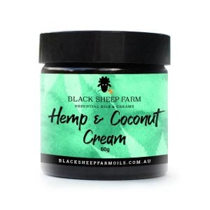 Hemp (CBD) cream in coconut oil