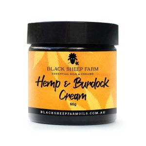Hemp (CBD) cream with Burdock