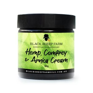 Hemp cream with comfrey & arnica
